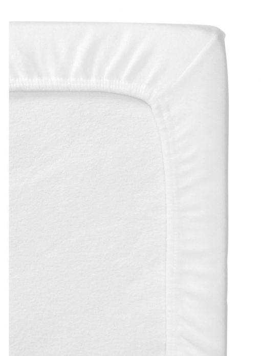 HEMA Ledikant Molton Hoeslaken 60 X 120 Cm (wit)