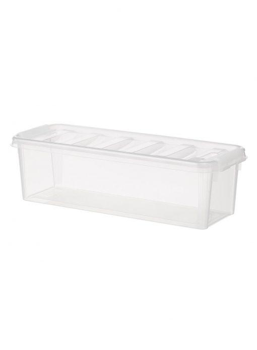 HEMA Opbergbox 38 X 14 X 11 Cm (transparant)