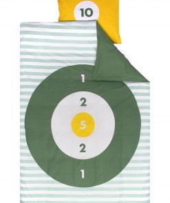 HEMA Kinderdekbedovertrek - 140 X 200 Cm - Balgooispel Groen (groen)