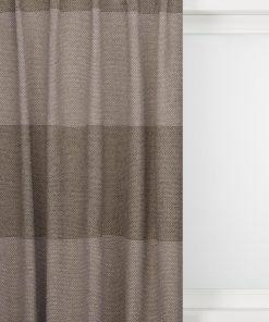 HEMA Gordijnstof Giethoorn Streep (grijs)