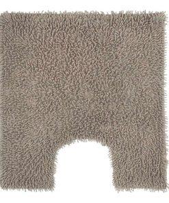 Toiletmat Dex - taupe - 60x60 cm - Leen Bakker