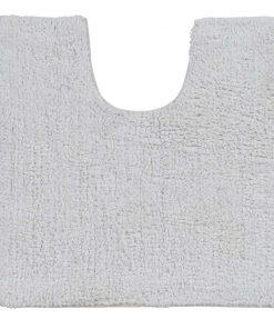 Toiletmat Matt - wit - 50x50 cm - Leen Bakker
