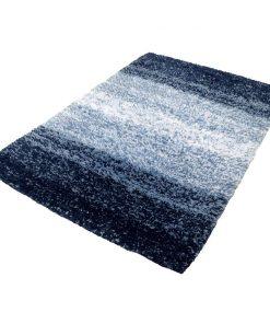 Kleine Wolke badmat Oslo - blauw - 60x90 cm - Leen Bakker