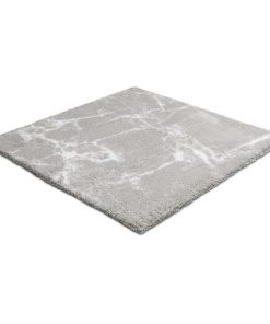 Kleine Wolke badmat Como - grijs - 60x60 cm - Leen Bakker