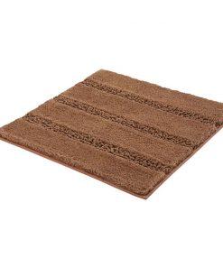 Kleine Wolke badmat Monrovia - bruin - 60x60 cm - Leen Bakker