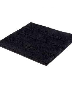Kleine Wolke badmat Monrovia - zwart - 60x60 cm - Leen Bakker
