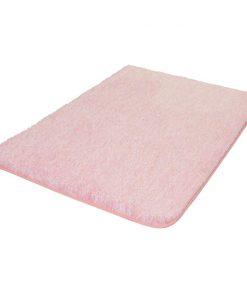 Kleine Wolke badmat Seattle - roze - 55x65 cm - Leen Bakker