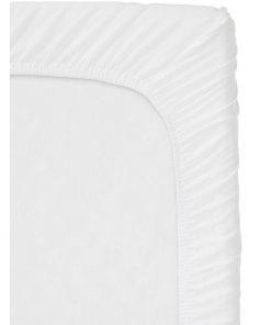 HEMA Hoeslaken Topmatras - Jersey Katoen Wit (wit)