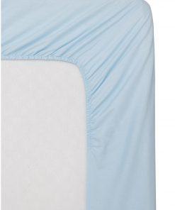 HEMA Hoeslaken - Zacht Katoen Lichtblauw (lichtblauw)