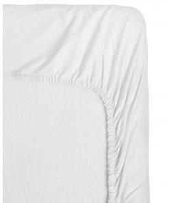HEMA Peuterhoeslaken Jersey - 70 X 150 Cm (wit)
