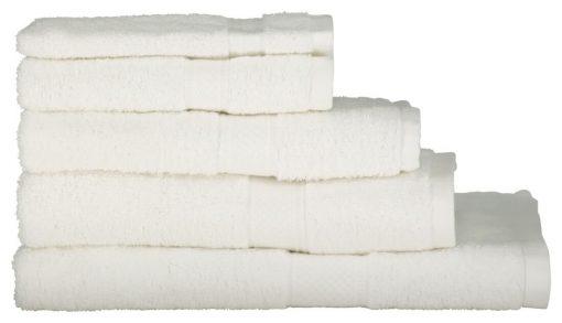 HEMA Handdoeken - Zware Kwaliteit Wit (wit)