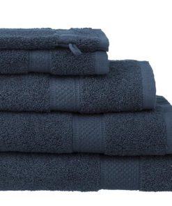 HEMA Handdoeken - Zware Kwaliteit Denim (denim)