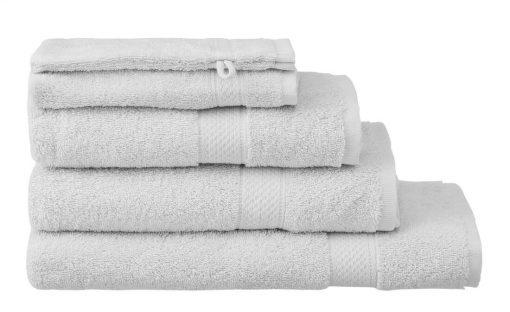 HEMA Handdoeken - Zware Kwaliteit Lichtgrijs (lichtgrijs)