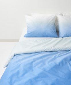 HEMA Dekbedovertrek - Zacht Katoen Blauw (blauw)
