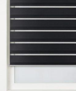 HEMA Duo Rolgordijn Uni Basic Zwart (zwart)