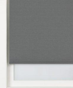 HEMA Rolgordijn Structuur Verduisterend/gekleurde Achterzijde Grijs (grijs)