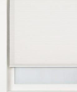 HEMA Plissé Dubbel Lichtdoorlatend / Witte Achterzijde 25 Mm Ecru (ecru)