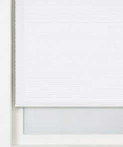 HEMA Plisségordijn Transparant 20 Mm Wit (wit)