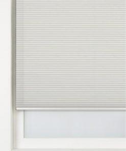 HEMA Plissé Dubbel Lichtdoorlatend / Witte Achterzijde 25 Mm (wit)