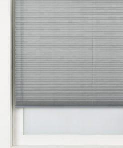 HEMA Plisségordijn Structuur Transparant 20 Mm Grijs (grijs)