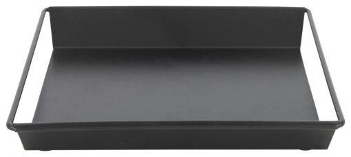 HEMA Kaarsplateau - 20.5 X 20.5 X 3 - Zwart Metaal