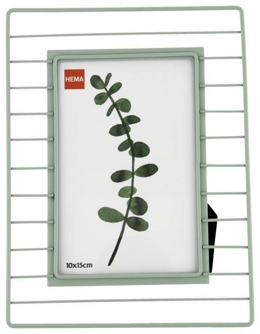 HEMA Fotostandaard Metaal 10x15 - Groen