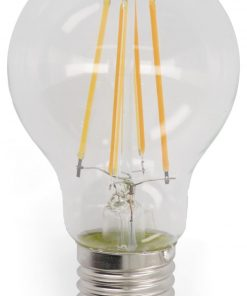 HEMA LED Lamp 60W - 806 Lm - Peer - Helder (transparant)