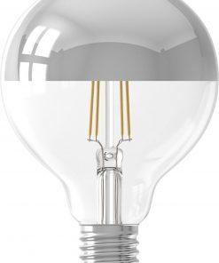 HEMA LED Lamp 4W - 280 Lm - Globe - Kopspiegel Zilver (zilver)