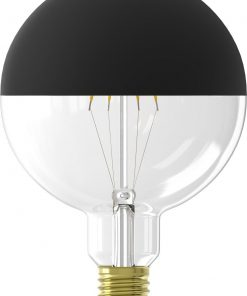 HEMA LED Lamp 4W - 280 Lm - Globe - Kopspiegel Zwart (zwart)