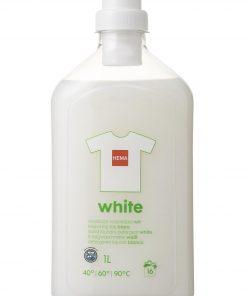 HEMA Vloeibaar Wasmiddel Wit 1L