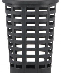 HEMA Wasmand 35x47.5x63 Zwart (zwart)
