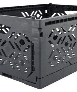 HEMA Klapkrat Recycled 30x40x15 - Donkergrijs