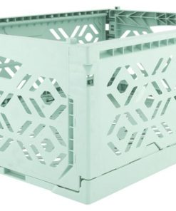 HEMA Klapkrat Recycled 30x40x15 - Mintgroen