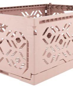 HEMA Klapkrat Recycled 30x40x15 - Roze