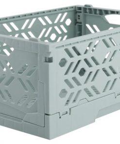 HEMA Klapkrat Recycled 16x24x10 - Mintgroen