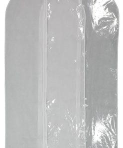 HEMA Kledinghoezen - Wit - 2 Stuks (wit)