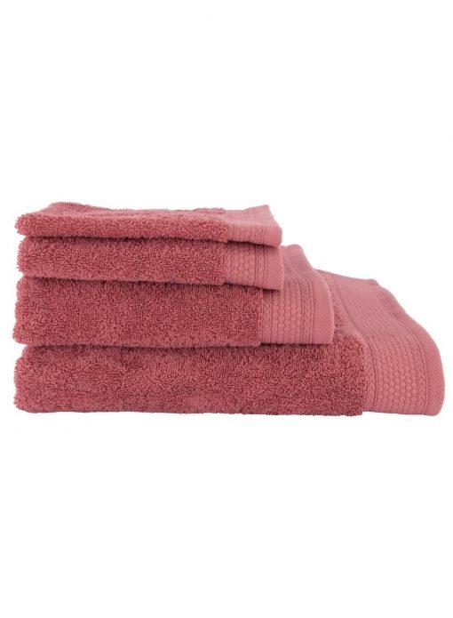 HEMA Handdoeken - Hotel Extra Zwaar Roze (roze)