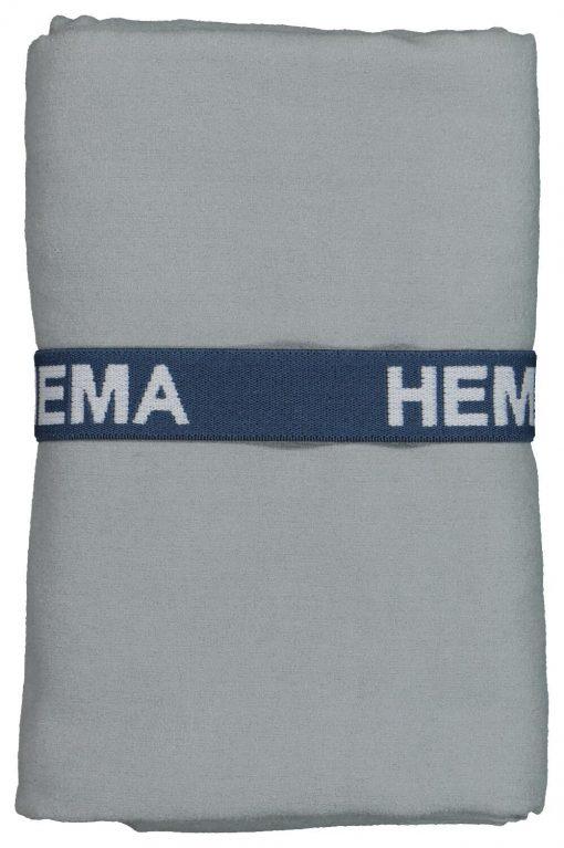 HEMA Microvezelhanddoek 70x140 Grijs (grijs)