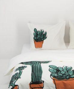 HEMA Dekbedovertrek - Zacht Katoen - Cactus Multi (multi)
