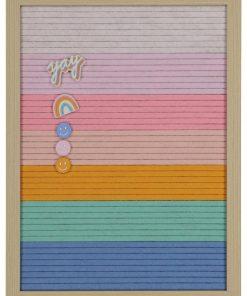 HEMA Letterbord Regenboog