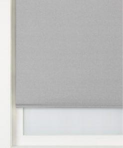 HEMA Rolgordijn Uni Transparant Lichtgrijs (lichtgrijs)