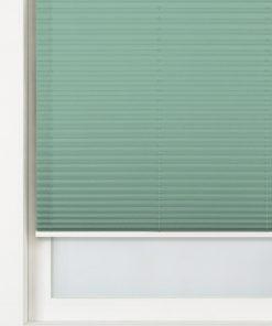 HEMA Plisségordijn Structuur Grof Lichtdoorlatend 20 Mm Groen (groen)