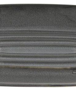 HEMA Zeepbakje - 13x9cm - Reactief Keramiek - Antraciet