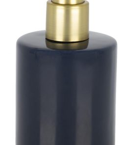 HEMA Zeeppomp - Ø8x15cm - Keramiek - Donkerblauw