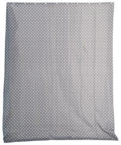 HEMA Douchegordijn - 180x200cm - Textiel - Grijs/wit